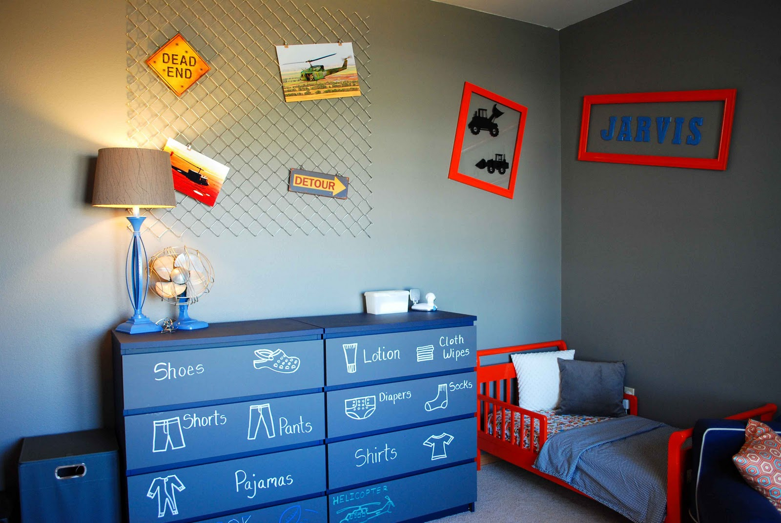 Toddler room diy mcbabybump