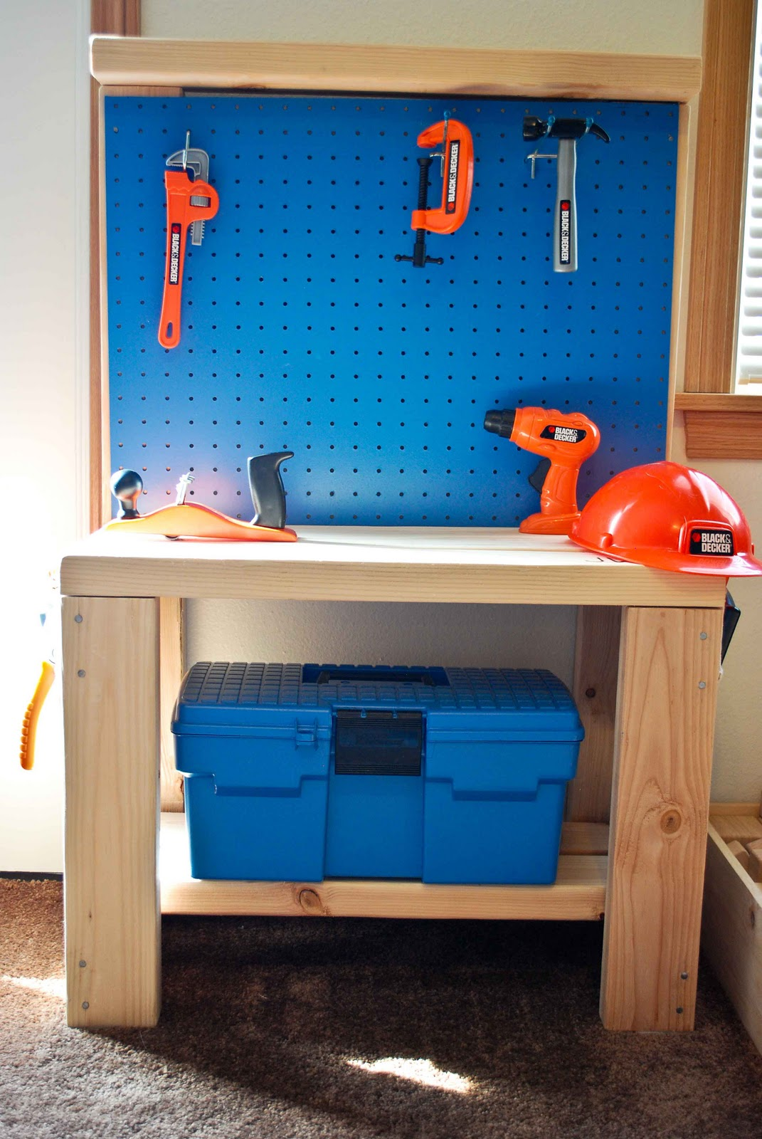 Woodwork diy kids workbench plans pdf download free diy for Diy home design software free